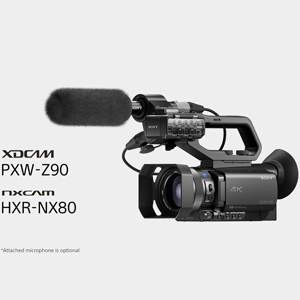 New Sony PXW-Z90 and HXR-NX80 Compact 4K Camcorders