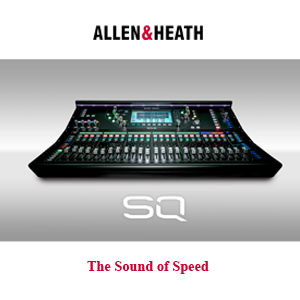 Allen & Heath Releases New Powerhouse SQ Series Digital Mixers