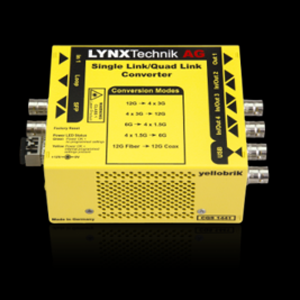 LYNX Technik: Bi-Directional 12G/3G Single-Link/Quad-Link Converter