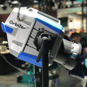ARRI introduces Orbiter, a new LED luminaire