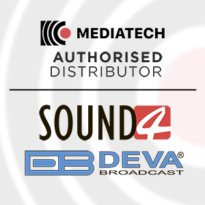 Mediatech Company gets an official distributor status from SOUND4 и DEVA Broadcast